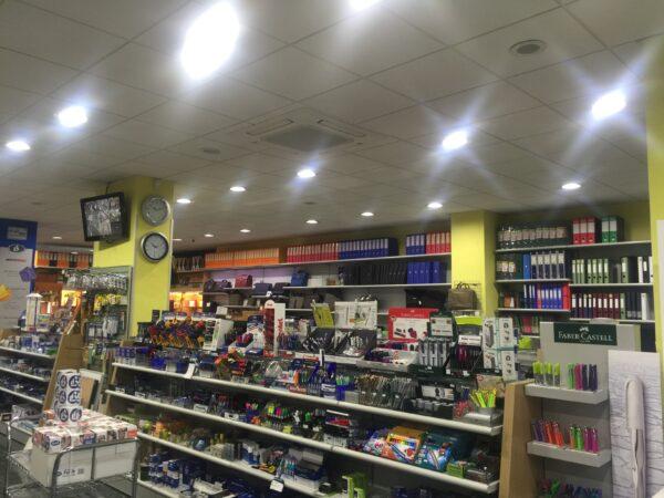 illuminazione led negozi