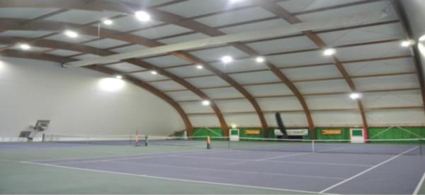 illuminazione campi da tennis