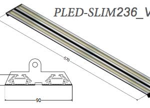 Plafoniera Led Pled-slim236v2
