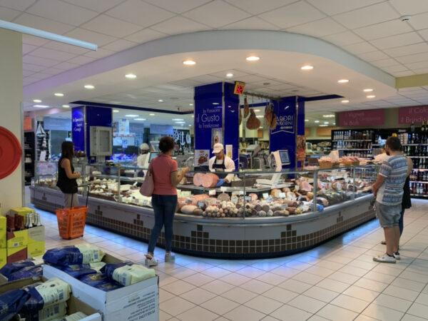 illuminazione led supermercati