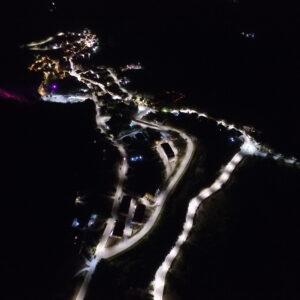 vista dall'alto di santa Paolina in provincia di Avellino