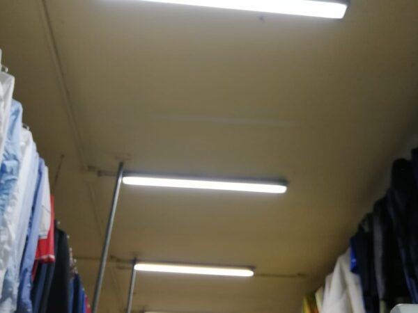 illuminazione led lavanderia